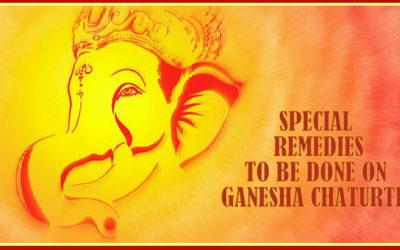 Special Remedies for Ganesha Chaturthi
