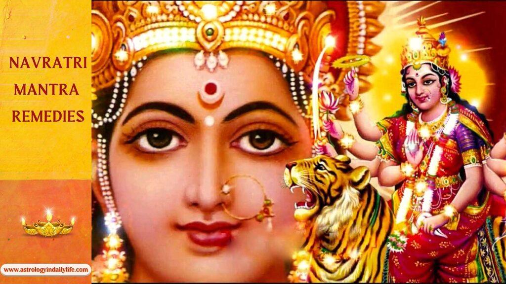 Navratri Mantra Remedies