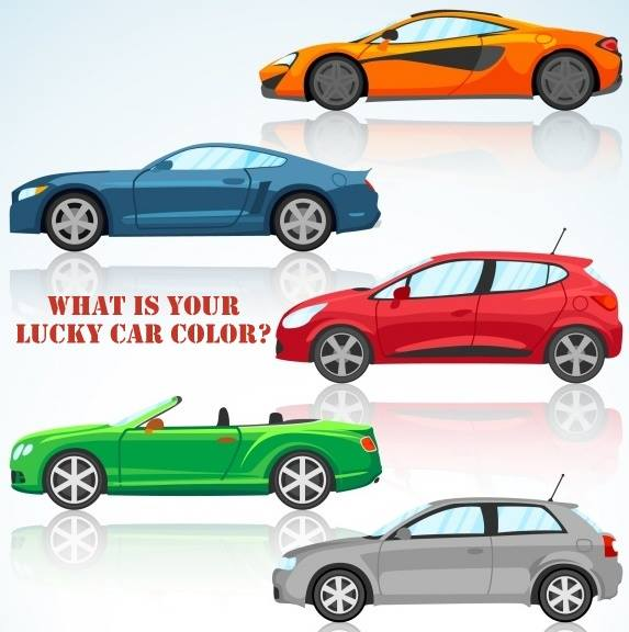 WHAT IS YOUR LUCKY CAR COLOR?