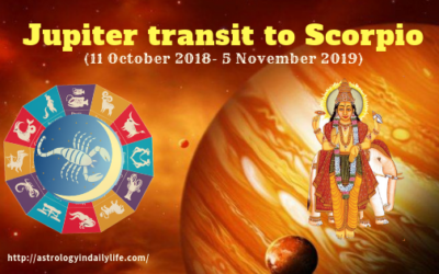 EFFECT OF JUPITER TRANSIT 2018-2019 TO SCORPIO ON ALL SIGNS