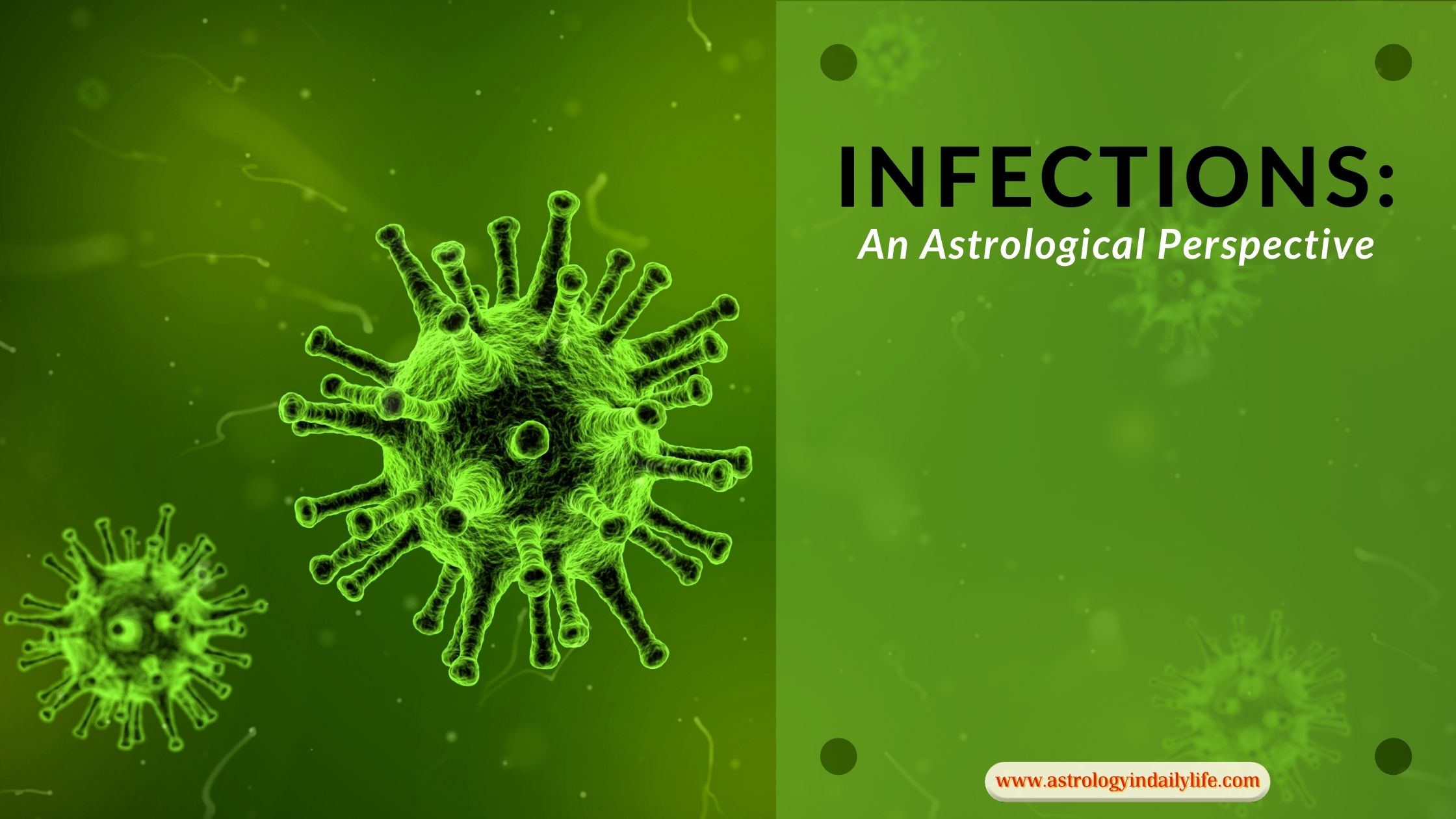 ASTROLOGY AND VIRAL INFECTIONS