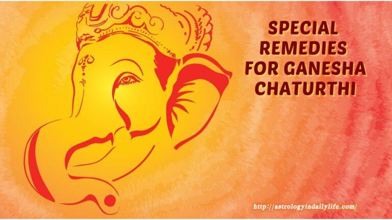 Ganesha remedies