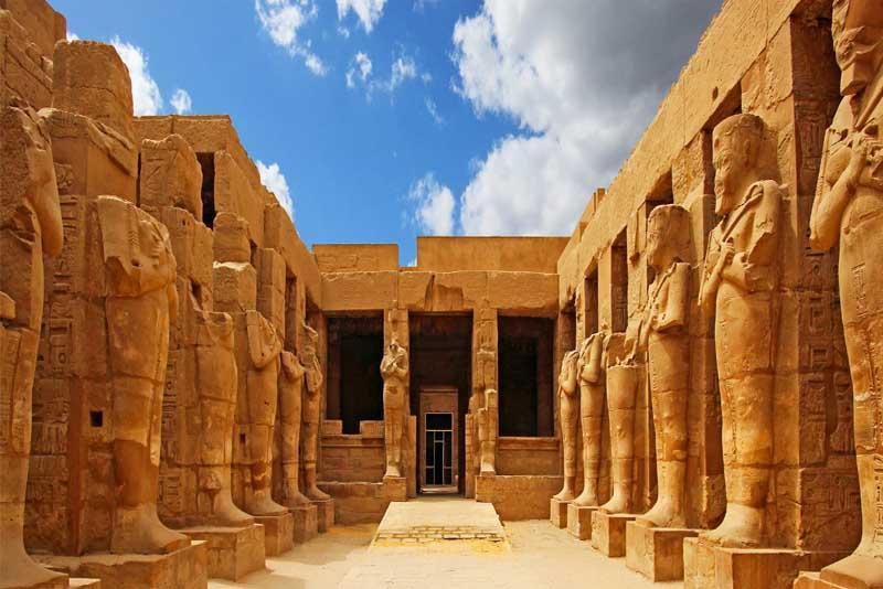 Karnak sun temple egypt